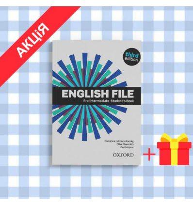 Учебник English File 3rd Edition Pre-Intermediate Students Book with DVD-ROM & iTutor ISBN 9780194598651
