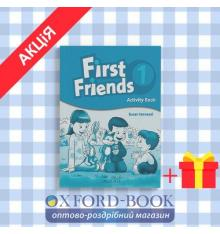 Рабочая тетрадь First Friends 1: Activity Book ISBN 9780194432061