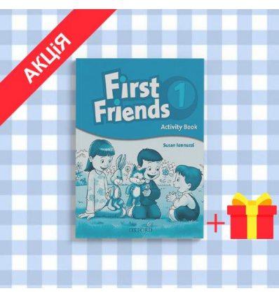 Рабочая тетрадь First Friends 1: Activity Book ISBN 9780194432061