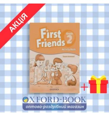 Рабочая тетрадь First Friends 2: Activity Book ISBN 9780194432115