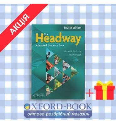 Учебник New Headway 4ed. Advanced Students Book with iTutor DVD ISBN 9780194713535