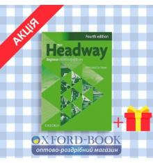 Рабочая тетрадь New Headway 4ed. Beginner workbook with key & iChecker CD-ROM Pack ISBN 9780194771085