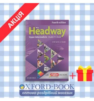 Учебник New Headway 4ed. Upper-Intermediate Students Book & iTutor DVD-ROM Pack ISBN 9780194771818