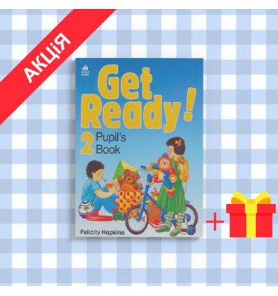 Учебник Get Ready 2 Pupils book 9780194339193 купить Киев Украина