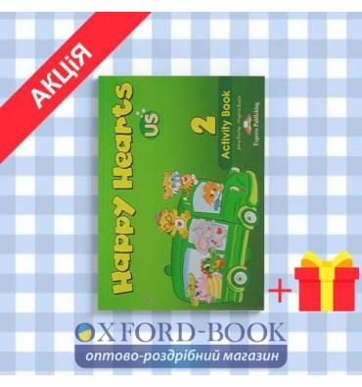 Рабочая тетрадь Happy Hearts 2 Activity Book ISBN 9781848626522
