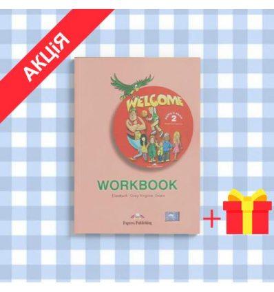 Рабочая тетрадь Welcome 2 workbook ISBN 9781903128206