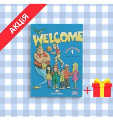Учебник Welcome 1 Students Book ISBN 9781844662005