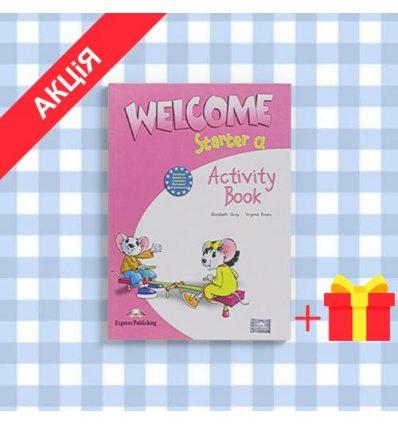 Тетрадь Welcome Starter a activity book 9781845583545 купить Киев Украина