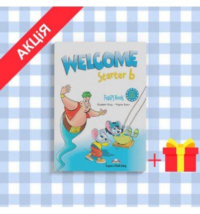 Учебник Welcome Starter b Pupils Book ISBN 9781844668724
