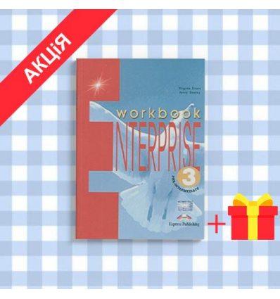 Рабочая тетрадь Enterprise 3 workbook ISBN 9781842168134