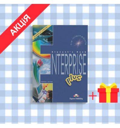 Учебник Enterprise PLUS pre-inter Students Book ISBN 9781843258124