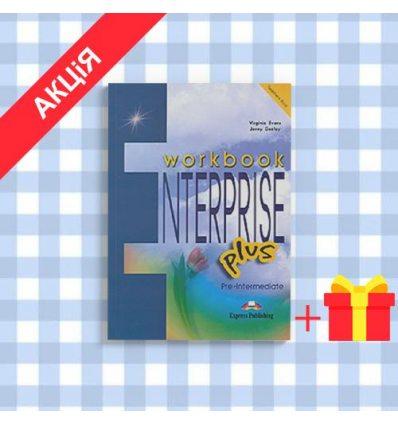 Рабочая тетрадь Enterprise PLUS pre-inter workbook ISBN 9781843258148