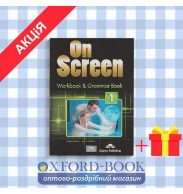 Рабочая тетрадь On screen 1 (A1-A2) Workbook & Grammar Book ISBN 9781471534775