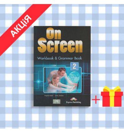 Рабочая тетрадь On screen 2 (A2-A2+) Workbook & Grammar Book ISBN 9781471534898
