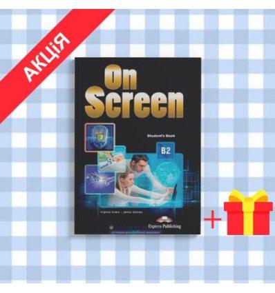 Учебник On Screen b2 Students Book with writing book ISBN 9781471533204