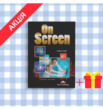 Учебник On Screen B2+ Students Book with Writing Book ISBN 9781471533211