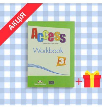 Рабочая тетрадь Access 3 workbook ISBN 9781846797934
