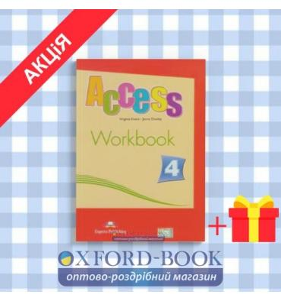 Рабочая тетрадь Access 4 Workbook ISBN 9781848620322