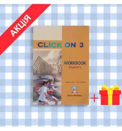 Рабочая тетрадь Click On 3 workbook ISBN 9781842167250