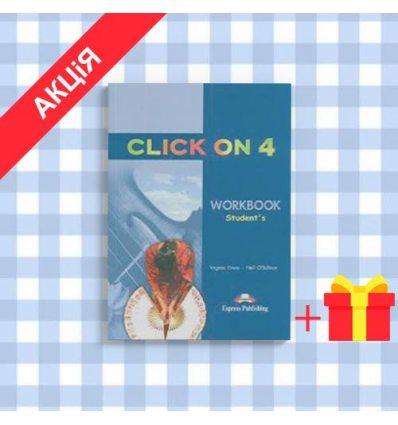 Рабочая тетрадь Click On 4 workbook ISBN 9781843257837
