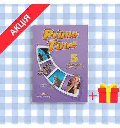 Рабочая тетрадь Prime Time 5 Workbook & Grammar ISBN 9781471503221