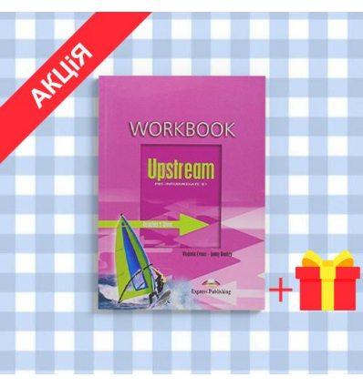 Рабочая тетрадь Upstream Pre-Intermediate Workbook ISBN 9781845584092