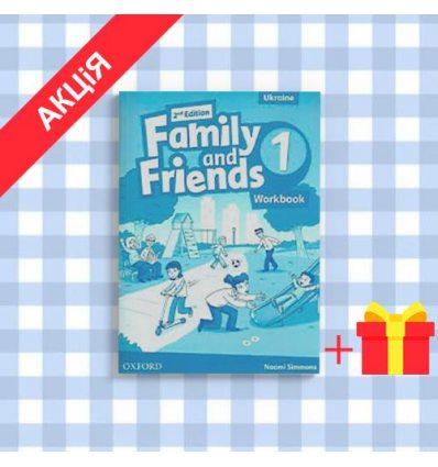 Тетрадь Family and Friends 1 Workbook (UA) 9780194811095 купить Киев
