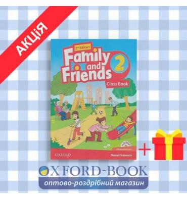 Книга family and friends 2 class book 2nd Edition ISBN 9780194808385