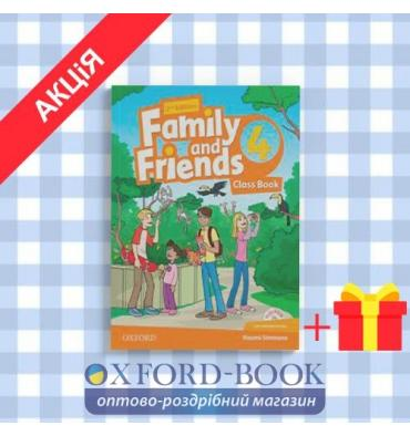 Книга Family and Friends 2nd Edition 4: Class Book online play ISBN 9780194808422