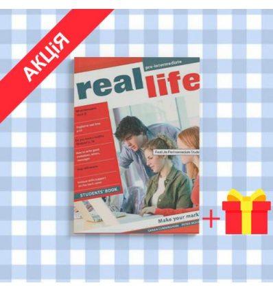 Учебник real life pre intermediate Students Book ISBN 9781405897068