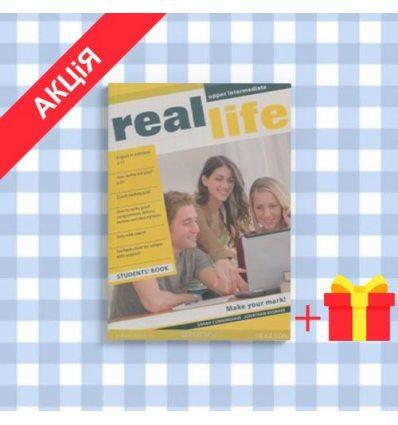 Учебник Real Life Upper Intermediate Students Book ISBN 9781405897075