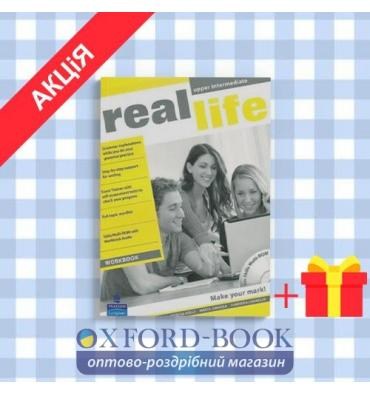 Рабочая тетрадь Real Life Upper Intermediate Workbook with Audio CD/CD-ROM ISBN 9781408239483