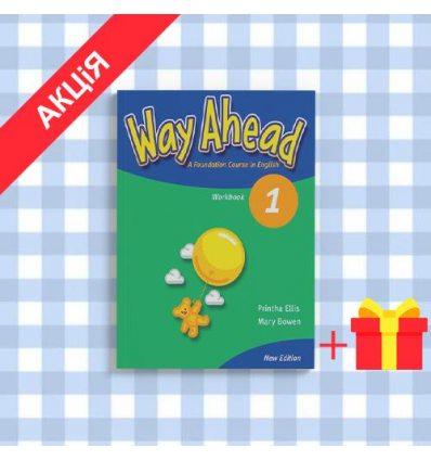 Рабочая тетрадь Way Ahead New 1 workbook ISBN 9781405058568