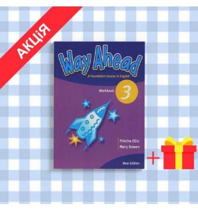 Рабочая тетрадь Way Ahead New 3 workbook ISBN 9781405058711