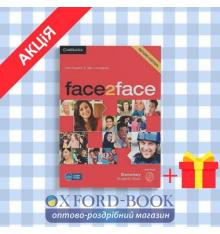 Учебник Face2face 2nd Edition Elementary Students Book with DVD-ROM Redston, Ch ISBN 9781107422049