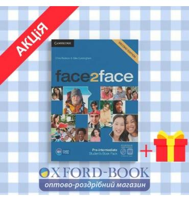 Учебник Face2face 2nd Edition Pre-intermediate Students Book with DVD-ROM Redston, Ch ISBN 9781107422070