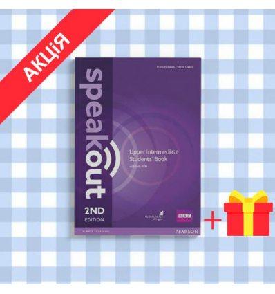 Учебник SpeakOut 2nd Edition Upper-Intermediate Students Book with DVD-ROM ISBN 9781292116013
