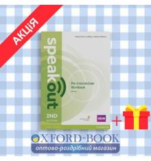 Рабочая тетрадь SpeakOut 2nd Edition Pre-Intermediate workbook with Key ISBN 9781447976974