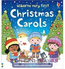 Книга Usborne Very First Words: Christmas Carols ISBN 9781474942706