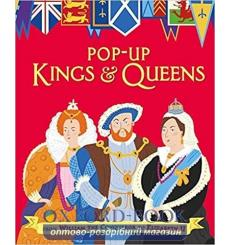 Pop-up Kings and Queens Rachael Saunders 9781406365399 купить Киев Украина
