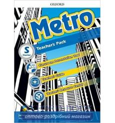 Книга для учителя Metro Starter Teachers book 9780194016759 купить Киев Украина