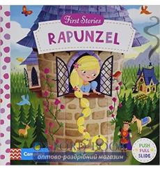 Книга с движущимися элементами First Stories: Rapunzel Dan Taylor, Jacob Grimm and Wilhelm Grimm 9781447295693 купить Киев Ук...