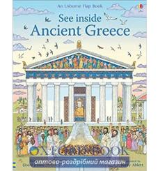 Книга See inside Ancient Greece Barry Ablett, Rob Lloyd Jones 9781474943048 купить Киев Украина