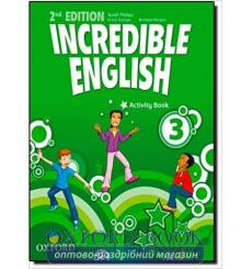 Тетрадь Incredible English 3 Activity book 2nd Edition 9780194442428 купить Киев Украина