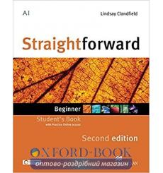 Учебник Straightforward Beginner Students Book with Practice Online Access Lindsay Clandfield 3rd Edition 9780230424449 купит...