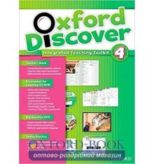 Книга для учителя Oxford Discover 4 Teachers book ISBN 9780194278201