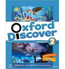 Тетрадь Oxford Discover 2 workbook 9780194278669