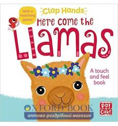 Книга Clap Hands: Here Come the Llamas Laura Hambleton 9781526381910 купить Киев Украина