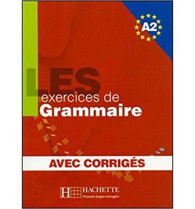 Грамматика Les 500 Exercices de Grammaire A2 + Corrig?s ISBN 9782011554352