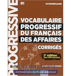Словарь Vocabulaire Progressif du francais des Affaires Intermediaire Corriges 9782090381078 купить Киев Украина
